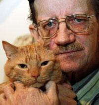 肺がんを見つけた猫