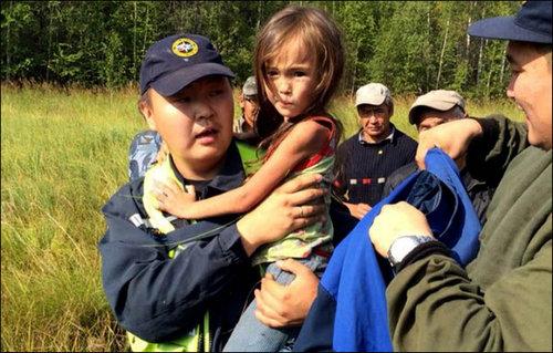 3歳の女の子がシベリアでサバイバル04