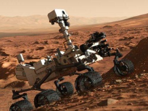 火星探査のローバー00