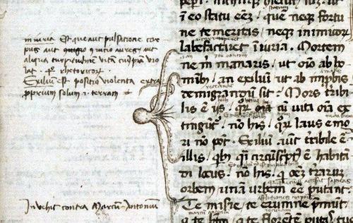 ヨーロッパ中世の書物の注記03