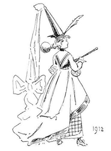 19世紀に想像した20世紀のファッション06