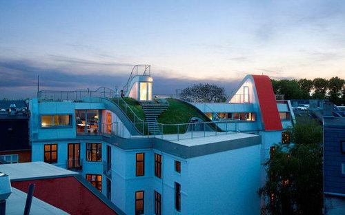 デンマークの屋根の上の遊び場14