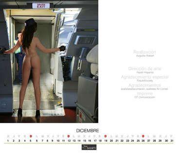 スチュワーデス・カレンダー12