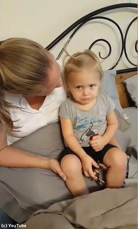 セリーヌディオンを聴くと必ず泣く赤ちゃん01