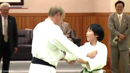 プーチン大統領と柔道01