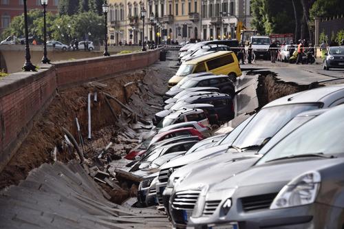 フィレンツェで洪水06