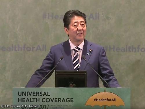 安倍首相が途上国の医療改善に29億ドル支援