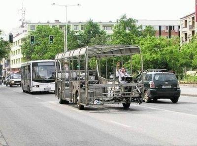 面白いバス