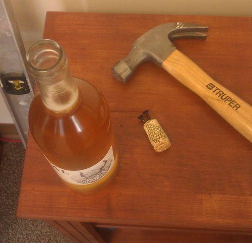 ワインボトルを開ける方法01