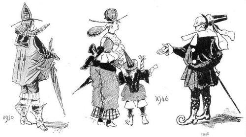 19世紀に想像した20世紀のファッション15