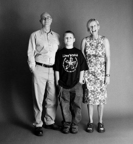 21年間の父、母、息子の写真11