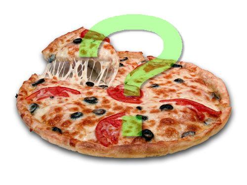 ピザの切り方が下手00