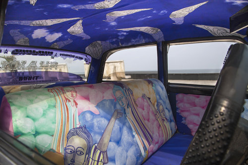 インドのタクシー09