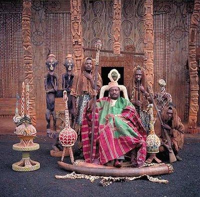 アフリカの部族の王や族長たち14