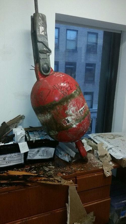 ニューヨークのクレーン転倒事故02