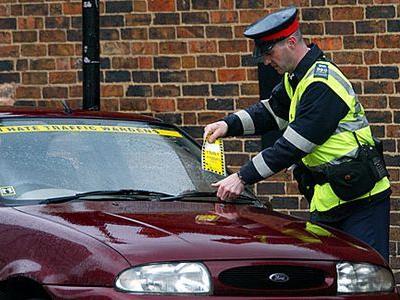 とんでもない駐車違反の取締り