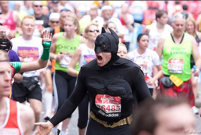 ロンドンマラソン・コスプレ11