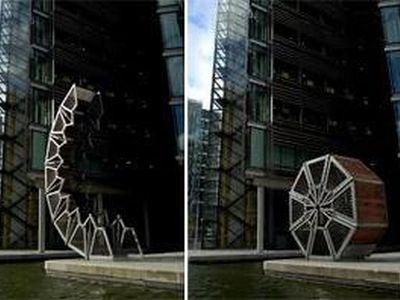巻きたたみ式のロンドン橋TOP