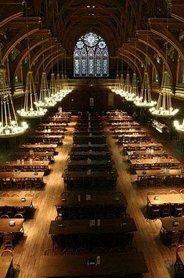 ハーバード大学の食堂09