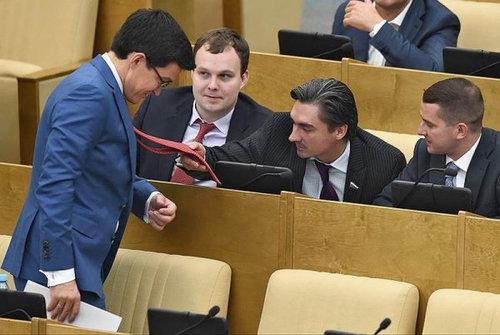 ロシアの議会風景08