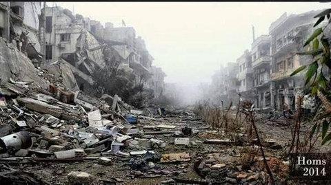 シリアの難民キャンプ04