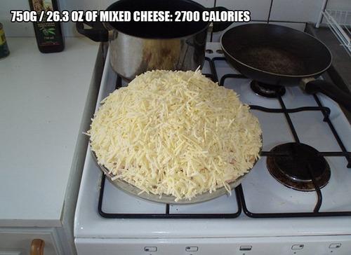 9000kcalのピザ10