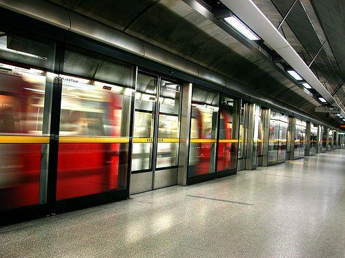ロンドンの地下鉄00