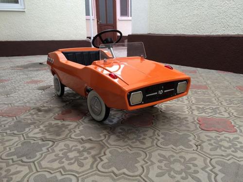 ソ連時代の子ども用のペダル車をレストア16