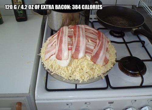 9000kcalのピザ11