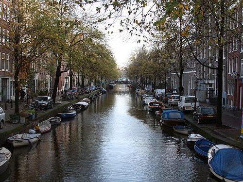 上空から見たアムステルダム00