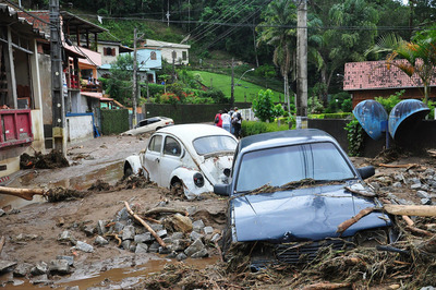 ブラジル洪水01