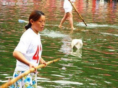 竹1本で川下り08