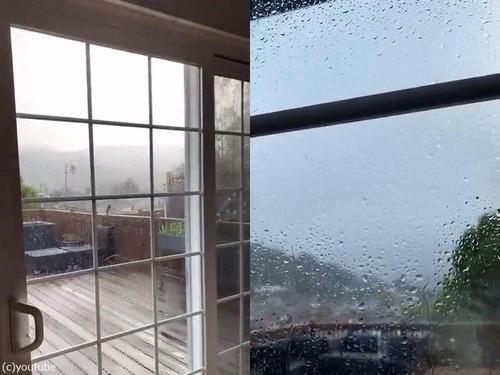 同じ家の両サイドで天気が全く違う03