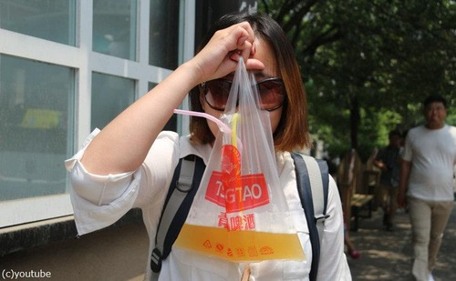 中国のビールの飲み方13