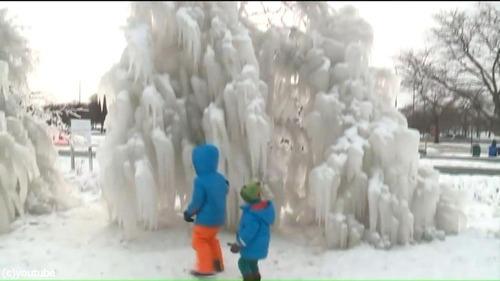 シカゴに大寒波01