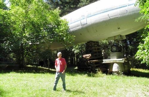 引退した飛行機の再利用09