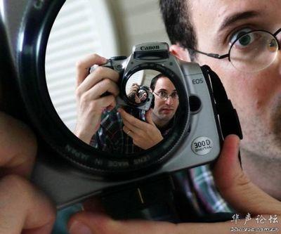 合わせ鏡のような不思議な写真04