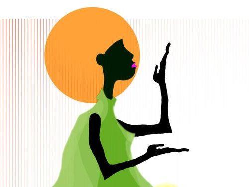 世界一のアフロ女性00
