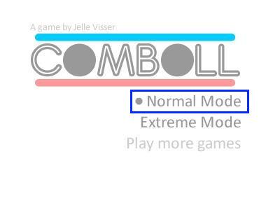 ボールバウンドゲーム「Comboll」01