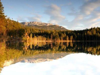 湖面の反射