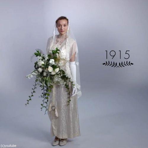 ウェディングドレスの変化01