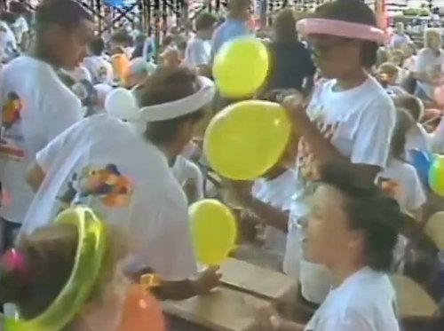 1986年にクリーブランドで飛ばされた風船07