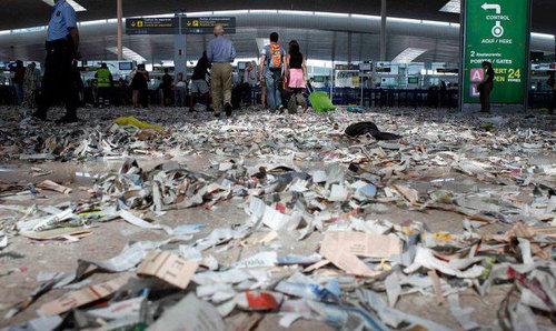 バルセロナの空港01