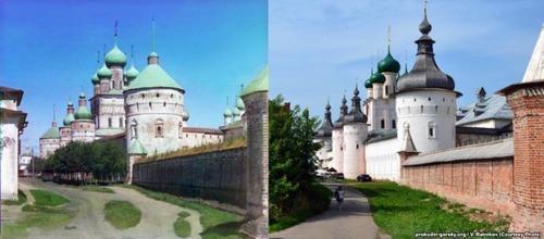 ロシア帝国時代の写真と現在19
