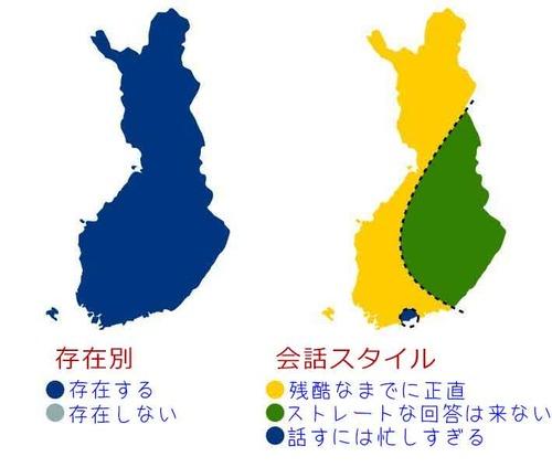 フィンランドの8つの分け方01