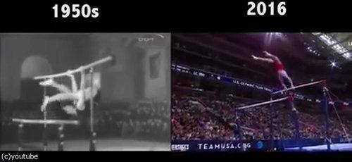 「体操」が50年余りでどれだけ進歩したか04