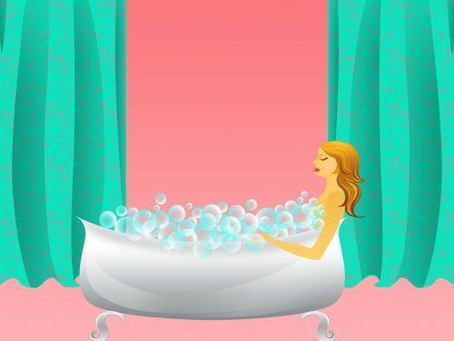 リビングにお風呂作った00