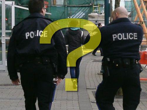 カナダの警察は犬を使わない00