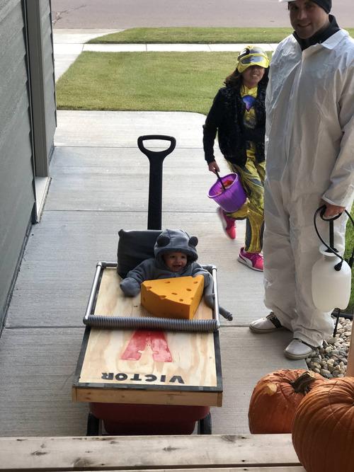 ハロウィンで子どもが訪問してきた02