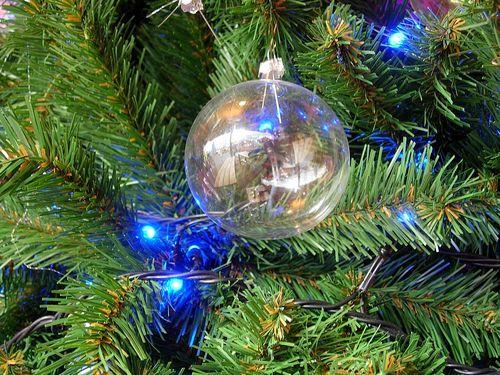 浮かんだクリスマスツリー00